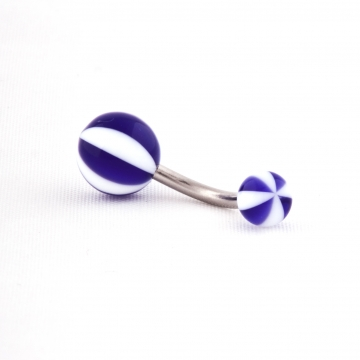 Belly Ring beach ball UV